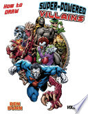 How to Draw Super Powered Villains TPB