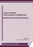 Green Building Technologies And Materials Book PDF