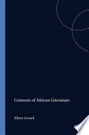 Contexts Of African Literature