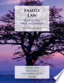 """""""Family Law: Text, Cases, and Materials"""" by Joanna Miles, Rob George, Sonia Harris-Short"""