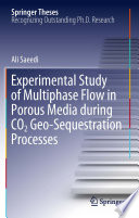 Experimental Study of Multiphase Flow in Porous Media during CO2 Geo Sequestration Processes