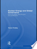 Nuclear Energy and Global Governance Book