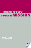 Cover of A Ministry Shaped by Mission