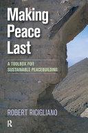 Making Peace Last