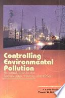 Controlling Environmental Pollution Book PDF