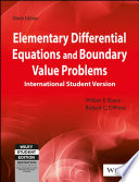 ELEMENTARY DIFFERENTIAL EQUATIONS AND BOUNDARY VALUE PROBLEMS, 9TH ED