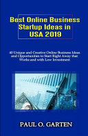 Best Online Business Startup Ideas in USA 2019