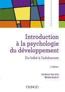 Pdf Introduction à la psychologie du développement - 4e éd Telecharger