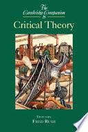 The Cambridge Companion to Critical Theory