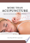 More Than Acupuncture Book