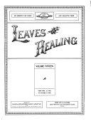 Pdf Leaves of Healing