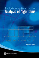 An Introduction to the Analysis of Algorithms Pdf/ePub eBook