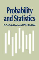 Pdf Probability and Statistics Telecharger