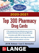 McGraw Hill s 2020 2021 Top 300 Pharmacy Drug Cards