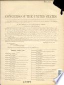 Journal Of The Senate Of The United States Of America Being The First Session Of The Fifty Third Congress Begun And Held At The City Of Washington August 7 1893 In The One Hundred And Eighteenth Year Of The Independence Of The United States