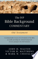 The Ivp Bible Background Commentary Old Testament