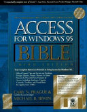Access for Windows 95 Bible