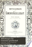 Mitteilungen der Comenius-Gesellschaft