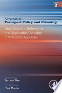 New Methods  Reflections and Application Domains in Transport Appraisal