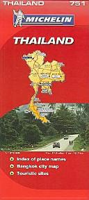 Michelin Map Thailand