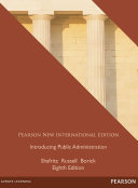 Introducing Public Administration: Pearson New International Edition