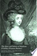 The Diary and Letters of Madame D Arblay  Frances Burney   1778 1787