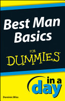 Pdf Best Man Basics In A Day For Dummies Telecharger