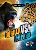 Gorilla vs  Leopard