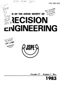 Bulletin of the Japan Society of Precision Engineering