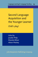 Second Language Acquisition and the Younger Learner Pdf/ePub eBook