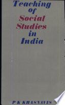 Teaching of Social Studies in India