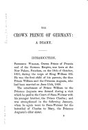The Crown Prince of Germany
