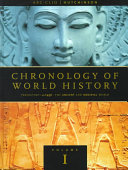 Chronology of World History  The ancient and medieval world  prehistory AD 1491