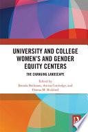 University And College Women S And Gender Equity Centers