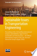 Sustainable Issues in Transportation Engineering