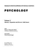 Magill S Encyclopedia Of Social Science Memory