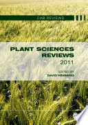 Plant Sciences Reviews 2011