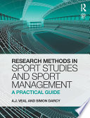 Research Methods in Sport Studies and Sport Management Book