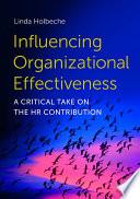 Influencing Organizational Effectiveness