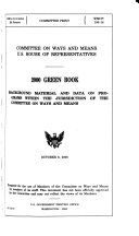 Background Material and Data on Major Programs Within the Jurisdiction of the Committee on Ways and Means