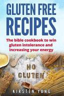 Gluten Free Recipes Book