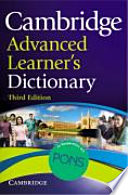 Cambridge Advanced Learner S Dictionary