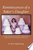 Reminiscences Of A Baker S Daughter