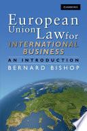 European Union Law For International Business
