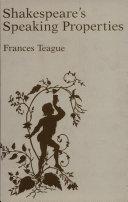 Shakespeare's Speaking Properties [Pdf/ePub] eBook