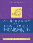 Articulatory and Phonological Impairments Book PDF