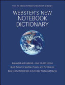 Webster s New Notebook Dictionary