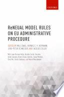 Reneual Model Rules On Eu Administrative Procedure