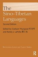 The Sino Tibetan Languages