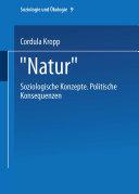 """""""Natur"""""""